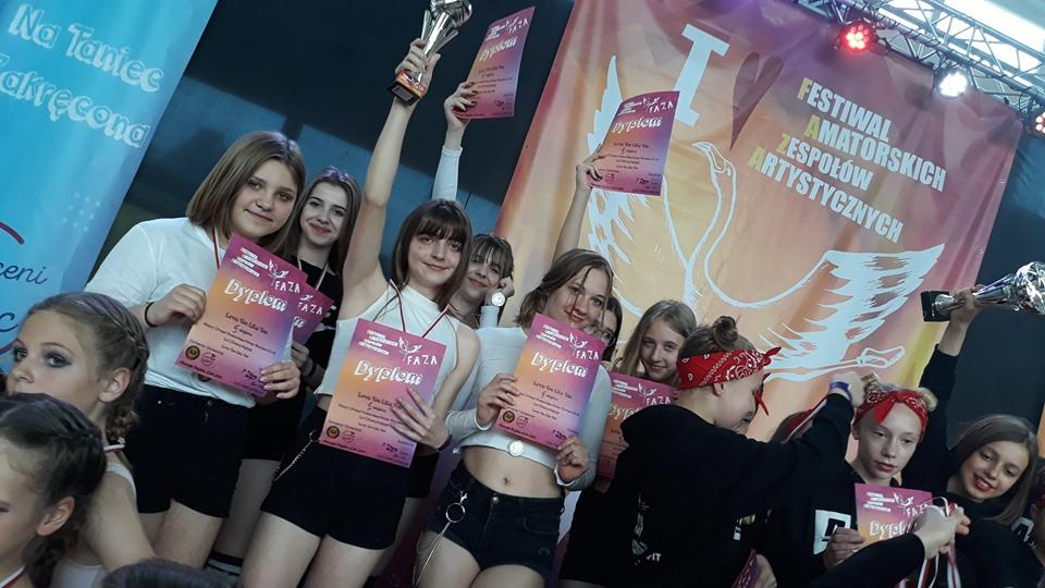 Kolejny sukces sekcji tanecznej