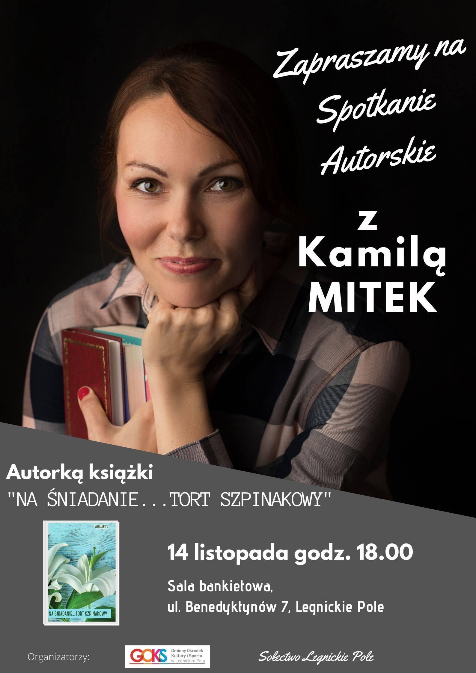Spotkanie autorskie z Kamilą Mitek