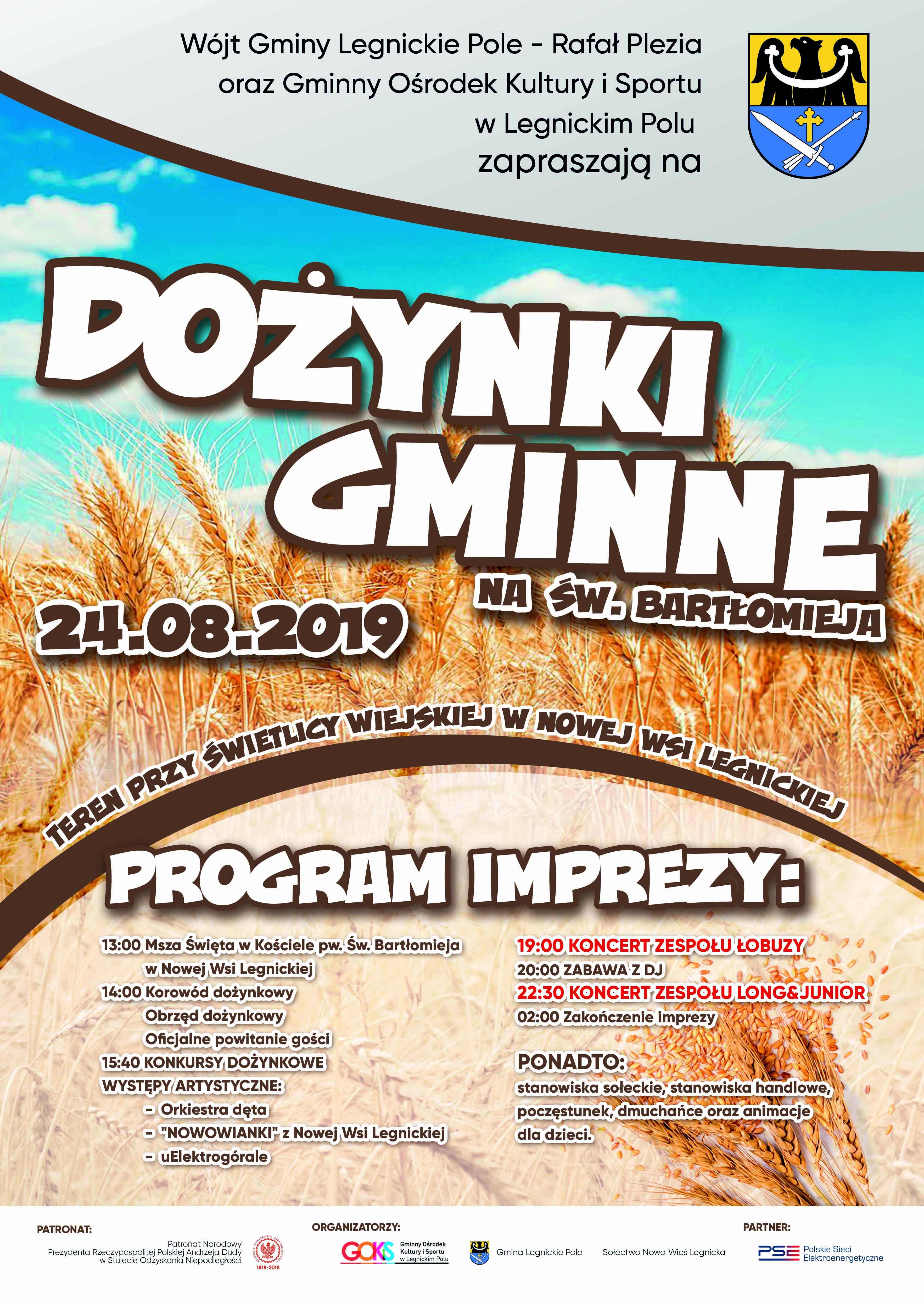 Dożynki Gminne 2019 - Nowa Wieś Legnicka