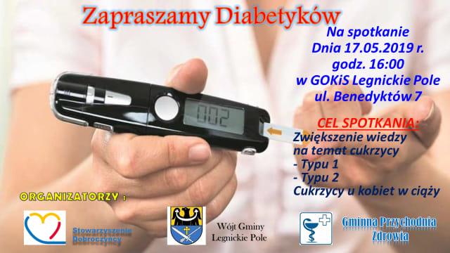 Zapraszamy na spotkanie dla diabetyków